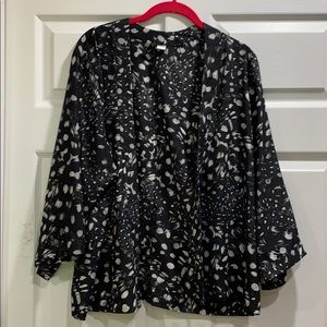 H&M Divided Short Kimono Jacket XS/2